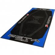Zeta Pit Floor Mat - Blue Black