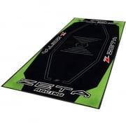 Zeta Pit Floor Mat - Green Black