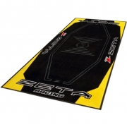 Zeta Pit Floor Mat - Yellow Black