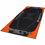 Zeta Pit Floor Mat - Orange Black