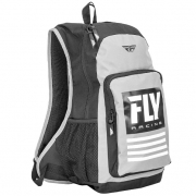 Fly Racing Jump Grey White Backpack