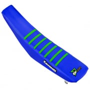 D Cor Kawasaki Gripper Factory Rib Blue Blue Green Seat Cover
