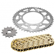 RK Kawasaki Motocross Chain & Sprocket Set