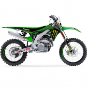 D Cor 2019 Team Monster Kawasaki Full Graphics Kit