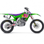 D Cor 2019 Retro Kawasaki Full Graphics Kit