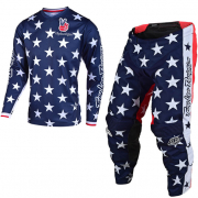 Troy Lee Designs GP Independence Navy Kit Combo