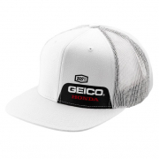 100% Echo Honda Geico Black Trucker Hat