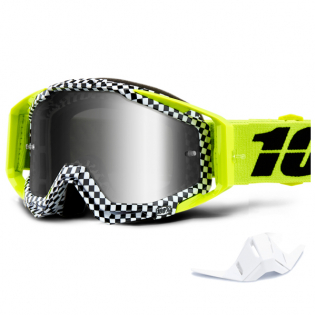 100% Racecraft Andre Mirror Lens Goggles