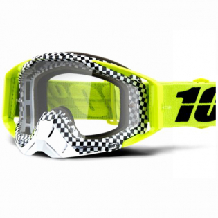 100% Racecraft Andre Clear Lens Goggles