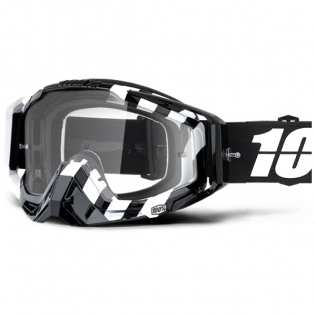 100% Racecraft Alta Clear Lens Goggles