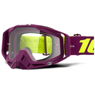 100% Racecraft Klepto Clear Lens Goggles