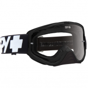 Spy MX Woot Black Clear Lens Goggles