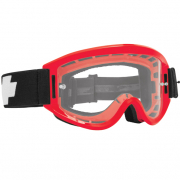 Spy MX Breakaway Red Clear Lens Goggles