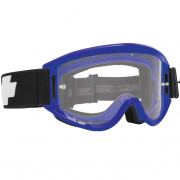 Spy MX Breakaway Blue Clear Lens Goggles