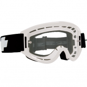Spy MX Breakaway White Clear Lens Goggles