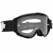 Spy MX Breakaway Black Clear Lens Goggles