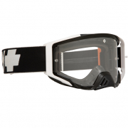 Spy MX Foundation Black HD Clear Lens Goggles