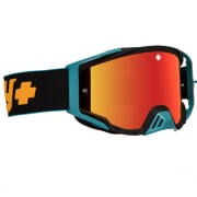 Spy MX Foundation Plus Camo Orange HD Smoke Lens Goggles