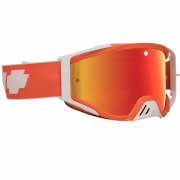 Spy MX Foundation Plus Classic Orange HD Smoke Lens Goggles