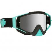 Spy Omen MX Cole Seely Silver Smoke Lens Goggles