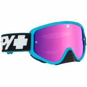Spy MX Woot Slice Blue Smoke Lens Goggles