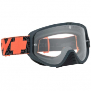 Spy MX Woot Maze Orange Clear Lens Goggles