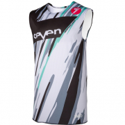 Seven MX Zero Blur Camo White Over Vest