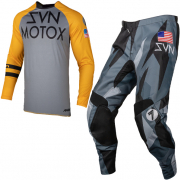 Seven MX Kids Annex Force Orange Black Kit Combo