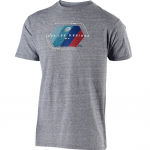 Troy Lee Designs T Shirt Technical Fade Vintage Grey Snow