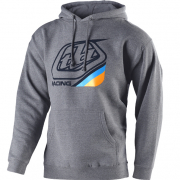 Troy Lee Designs Hoodie Precision 2.0 Gunmetal Heather