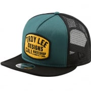 Troy Lee Designs Blockworks Cap - Green Gold
