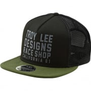 Troy Lee Designs RC Cali Cap - Black Green