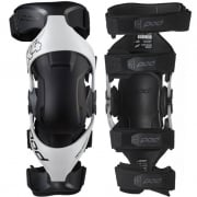 POD MX K4 2.0 White Knee Brace - Pair