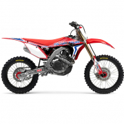 FLU Designs PTS 4 Honda CRF Graphics Kit