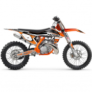 FLU Designs PTS 4 KTM SX Graphics Kit