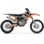 FLU Designs PTS 4 KTM SXF Graphics Kit