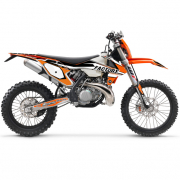 FLU Designs PTS 4 KTM EXC Graphics Kit