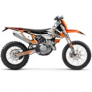 FLU Designs PTS 4 KTM EXCF Graphics Kit