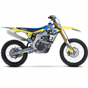 FLU Designs PTS 4 Suzuki RM Graphics Kit