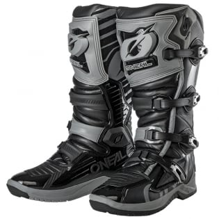 ONeal RMX Black Grey Motocross Boots