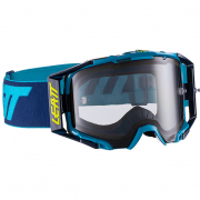 Leatt 6.5 Velocity Ink Blue Light Grey Lens Goggles