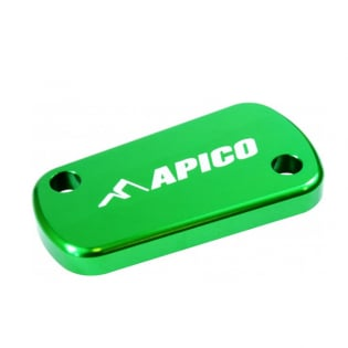 Apico Kawasaki Front Clutch Reservoir Cover - Green