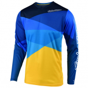 Troy Lee Designs GP Air Jet Yellow Blue Jersey