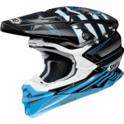 Shoei VFX-WR Grant3 Black Blue TC2 Helmet