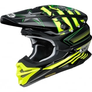 Shoei VFX-WR Grant3 Black Flou Yellow TC3 Helmet