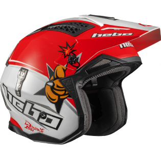 Hebo Zone 4 Fibre Toni Bou Replica Trials Helmet