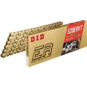 DID ERVT Series Heavy Duty Narrow X Ring Chain - Gold