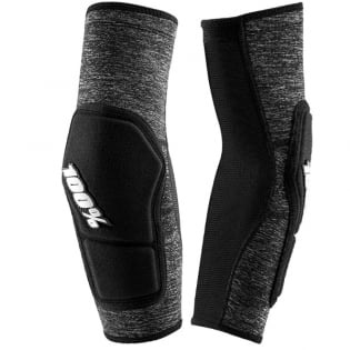 100% Ridecamp Grey Heather Elbow Guards