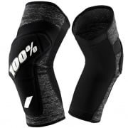 100% Ridecamp Grey Heather Knee Guards