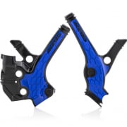Acerbis Yamaha X-Grip Frame Black Blue Guards